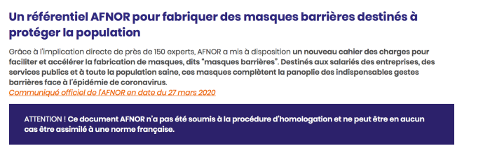 AFNOR_HOMOLOGATION