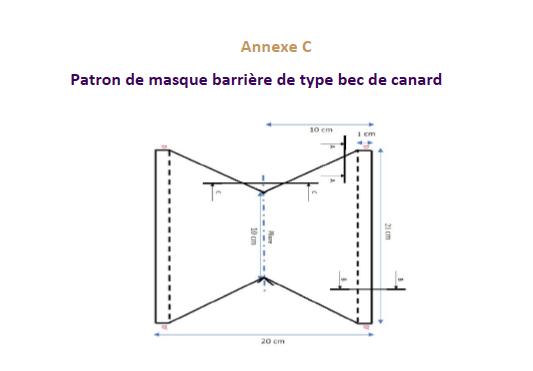 patron_masque_barrière_bec_canard_afnor
